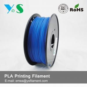 Best 1.75mm Fluorescent Blue PLA 3D Printer Filament For Desktop 3D Printer wholesale
