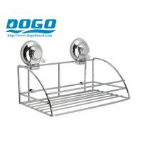 SUS304 CHROME Suction Cup Collection Shower Caddy