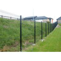 China Galvanized, PVC, Powder Coated Welded 3D Fence Panel on sale