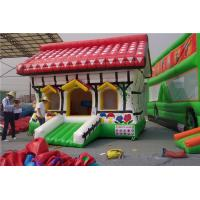 Best Farm house Inflatable bounce house with CE and TUV cert for kids and kindergarden,indoor and outdoor jumping castle wholesale