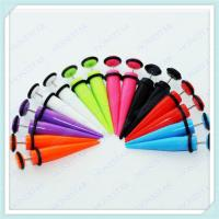 Best Hot selling acrylic fake ear tapers jewelry wholesale