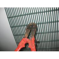 Best 358 Fence Security Wire Mesh Fence PVC Coated Galvanized 4 . 0 MM Wire Diameter wholesale