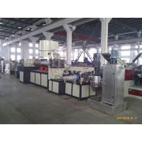 Best Double Stage Recycling Plastic Extrusion Line With Two Single Screw Extruders wholesale