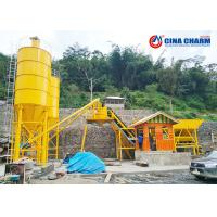 Best 4.1m Dry Mix Concrete Batching Plant HZS90 Model , 80MM Cement Concrete Batching Plant wholesale
