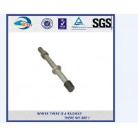 Best SS201 SS303 Stainless Steel Double Thread Bolt And Nut For Railway wholesale