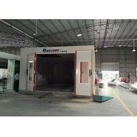 Best LED Light Infrared Spray Booth , Outside Paint Booth 8M Length 4.5 M Width wholesale