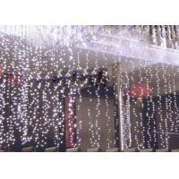 Best 110 Volt LED Curtain Lights , 6x3m Outdoor Wedding Curtain String Lights wholesale