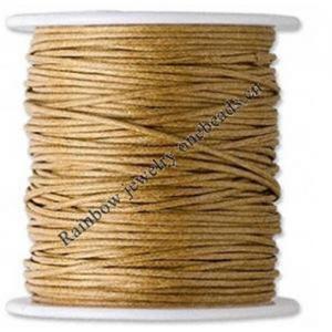 China Cotton Wax Cord on sale