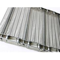 Food Processing Wire Mesh Conveyor Chain , Sprocket Drive Stainless Steel Chain