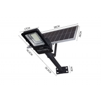 China High Lumen 100w 160lm/W Solar LED Garden Light on sale