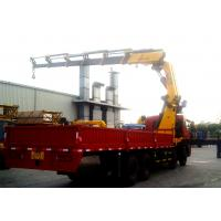 Cheap 25 Ton Knuckle Boom Truck Mounted Crane Driven By Hydraulic XCMG for sale