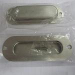 Best Oblong cup flush pull handle for cabinet/drawer/dresser/wardrobe/furniture/kitchen/door wholesale