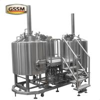 Buy cheap Electric Heated Brewhouse Stainless Steel Brewing Equipment For Brewery / Hotel from wholesalers