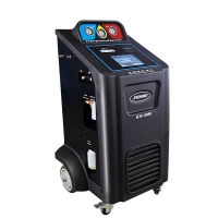 Best Built-in printer Recovery machine Car Refrigerant Recovery Machine 15kg Cylinder Capacity Car AC Service Machine wholesale