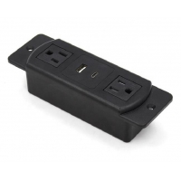 China New design US furniture mounting power outlet with type-c on sale