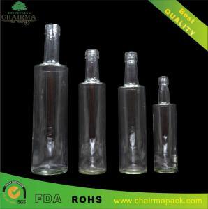 Best Series Flat Shoulder Glass Bottle for Gin,Vodka,etc. wholesale