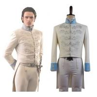 China Prince costumes Wholesale Cinderella 2015 Film Prince Charming Kit Uniform Outfit Cosplay Costume from Cinderella 2015 on sale