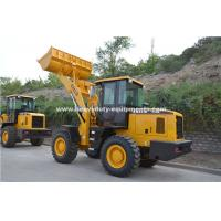 Buy cheap Sinomtp Lg933 3000kg Wheel Front End Loader With Wooden Fork And Rock Bucket from wholesalers