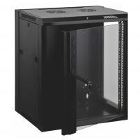 Buy cheap 12u Wall Mount Data Cabinet Wall Network Cabinet Customized Logo Door Design from wholesalers