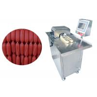 China Sausage Linker Meat Tying Machine Sausage Double Clipping Processing on sale