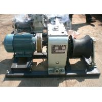 Best JJM5-D 5 Ton Cable Winch Puller Electric Hoisting Used In Power Transmission wholesale