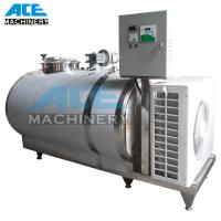 China 1000liter Sanitary Milk Cooling Tank Vertical Cooling Tank (ACE-ZNLG-I8) on sale