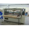China Vertical Semi Automatic Die Cutting Machine , Carton Paper Folding Machine 2200mm wholesale