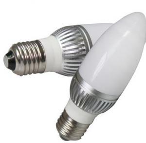 Best E14 LED candle lights 3W high power 85-265V E27 bulbs wholesale