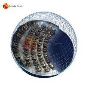 China Amusement theme park totally immersive dome cinema 4d motion cinema equipment on sale