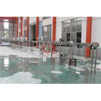 OEM Glass Bottle Filling And Capping Machine / Small Scale Juice Bottling Equipment