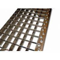 China ASTM Q235 SS304 Stainless Steel Stair Treads, Anti Corrosion Bar Grating Treads on sale