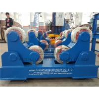 Best Standard 10T Pressure Vessel Vessel Turning Rolls / Pipe Rotators For Welding wholesale