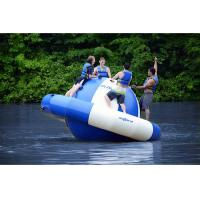 China 4 Rriders Water Park Equipment inflatable Saturn Rocker / Water Revolving Saturn on sale