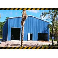 Prefab Light Steel Structure Frame Workshop Building Kits Environmentally Friendly