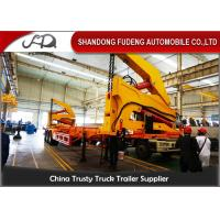 Best 40FT Diesel Engine Side Loader Trailer Mechanical Ladder Hydraulic Side Loader wholesale