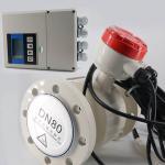 Best Dn25 Dn800 Split Type Electromagnetic Flow Meter Water Magnetic Flowmeter wholesale
