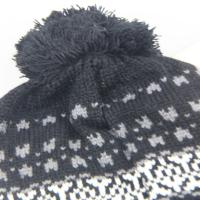 Best Winter Pompon Hats Knitting Wool Hat  High Quality Knitted Hat With Ball Top For Women wholesale