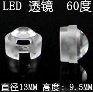 Best 1 Walt Led 13mm LED Optical Lens with  60 / 90 Degree Beam Angle 3W Edison LED wholesale