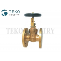 Best Class 150 10K Non - Rising Stem Bronze JIS Marine Gate Valve wholesale
