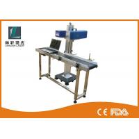 Best Light Weight Small Laser Engraving Machine , CO2 Flying Laser Marking Machine wholesale