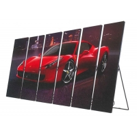 Best 1000 Nit 1R1G1B LED Poster Video Display 17mm Thickness wholesale