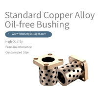 Best Flange Graphite Impregnated Brass Bearings wholesale