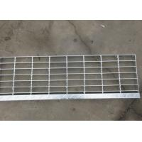 China Open Grate Stair Treads For Wet Decks Hot Dip Galvanized Feature on sale