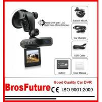 Best HD 720P Portable DVR Car Cameras With 120 Degree 2.4Inch TFT Display / Cmos Image Sensor wholesale