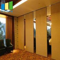 Best Office Sliding Wall Divider Partitions Folding Partition Wall For Conference Room wholesale