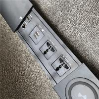 Best Embedded conference table power outlet mobile phone wireless charging multimedia socket wholesale
