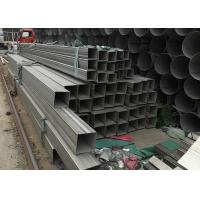 Best 201 304 316L 321 Stainless Steel Rectangular Hollow Section 5.8mm--6m Length wholesale