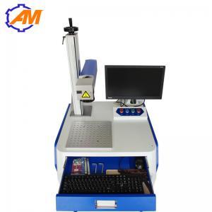 Best 20W Desktop Fiber Laser Marking Machine for ring medal watch and metal wholesale