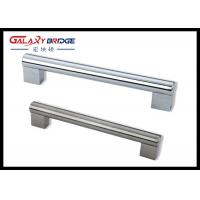 China Chrome Zinc Kitchen Cabinet Handles 800mm Aluminum Assembly T Bar Microoven Door Pulls on sale