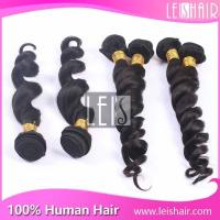 Buy cheap Hot selling 5A grade loose wave virgin peruvian hair product